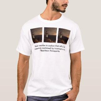 T-shirt le bonaparte, bonaparte, bonaparte, n'attribuent