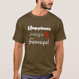 T-shirt Le bonheur est un grand-parent