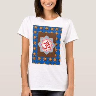 T-shirt Le bouddhisme d'hindouisme de temple d'art