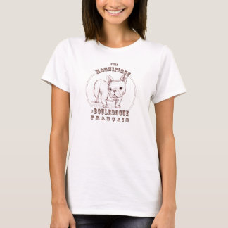 T-shirt Le Bouledogue Francais