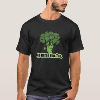 T-shirt Le brocoli vous déteste