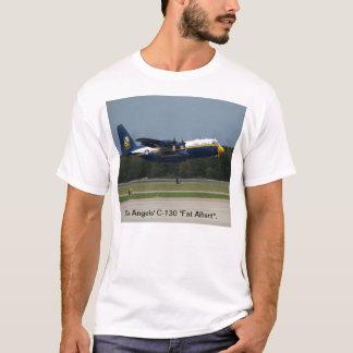 """T-shirt Le C-130 """"gros Albert"""" d'anges bleus."""