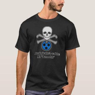 T-shirt Le câble d'un pirate