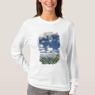 T-shirt Le Canada, Colombie-Britannique, Yoho NP. Nuages