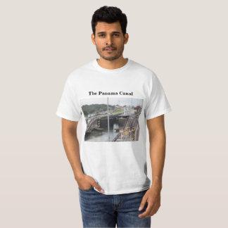 T-shirt Le canal de Panama, Photographie élevée de Def