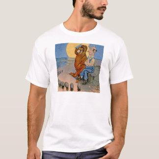 T-shirt Le Carpeneter, le morse et les huîtres