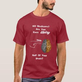 T-shirt Le cerveau d'Assurance-maladie de mise à mort