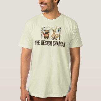 T-shirt Le chaman de conception - chemise de deux chamans