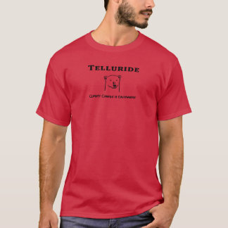 T-shirt Le changement climatique d'Andy de tellurure est