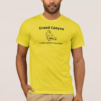 T-shirt Le changement climatique de canyon grand d'Arny