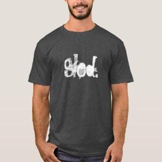 """T-shirt Le charbon de bois de """"traîneau"""" a coloré le"""