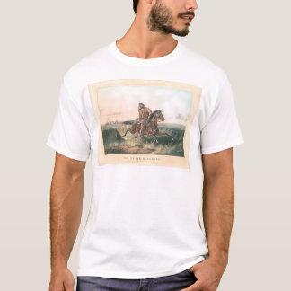 """T-shirt Le chasseur de prairie : """"Un frotté !"""" (1364A)"""