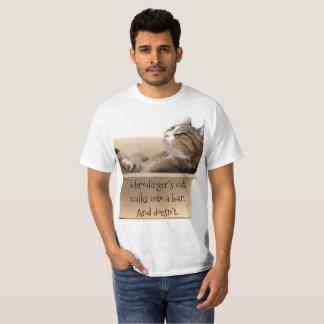 T-shirt Le chat de Schrodinger