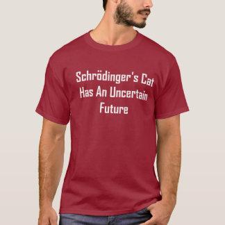 T-shirt Le chat de Schrodinger a un avenir incertain