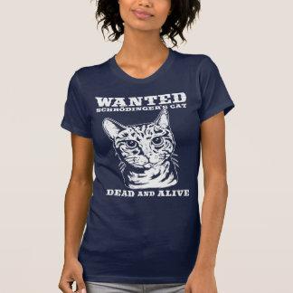 T-shirt Le chat de Schrodinger a voulu des morts ou vivant