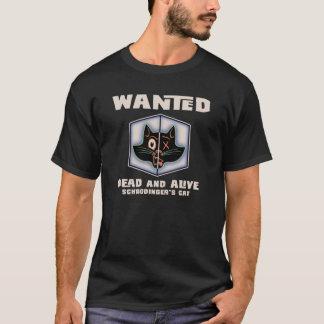 T-shirt Le chat de Schrodinger voulu
