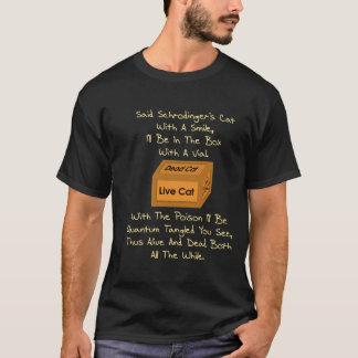 T-shirt Le chat Limerick de Schrodinger