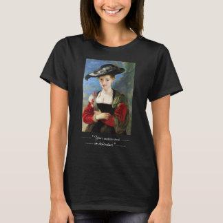 T-shirt Le chef d'oeuvre de Peter Paul Rubens de chapeau