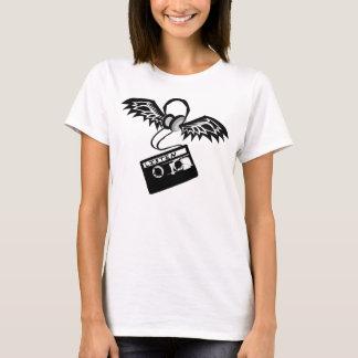 T-shirt Le chef téléphone l'enregistreur à cassettes