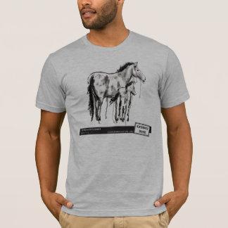 T-shirt Le cheval de Przewalski, par l'alouette de Laura