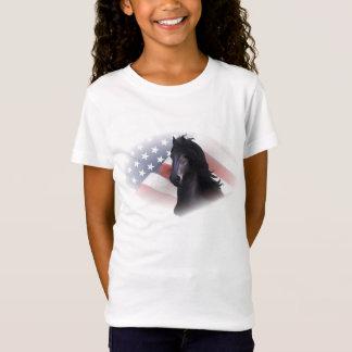 T-Shirt Le cheval frison