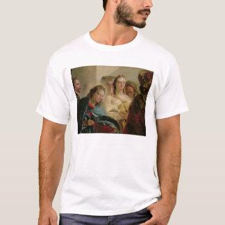 T-shirt Le Christ et l'adultère, 1751 (huile sur la toile)