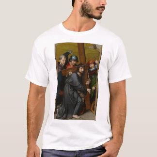T-shirt Le Christ portant la croix, avec la crucifixion