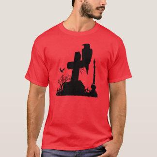 T-shirt le cimetière d'une corneille