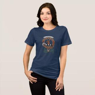 T-shirt Le clan de Forbes Badge les femmes