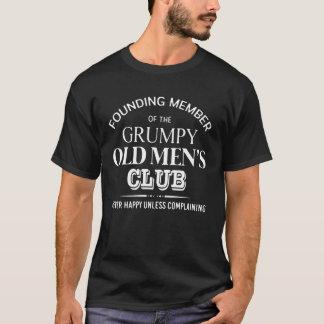 T-shirt Le club grincheux de vieux hommes