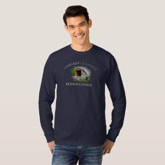 T-shirt Le comté de Lancaster -- longue chemise de douille