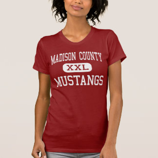 T-shirt Le comté de Madison - mustangs - milieu -