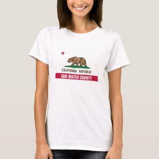 T-shirt Le comté de San Mateo la Californie