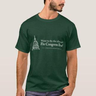 T-shirt Le congrès de difficulté de climat d'abord