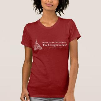 T-shirt Le congrès de difficulté de code fiscal d'abord