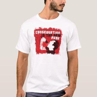 T-shirt Le conservateur est le nouveau punk