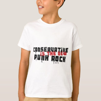 T-shirt Le conservateur est le nouveau punk rock