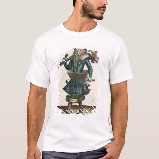 T-shirt Le costume du maçon