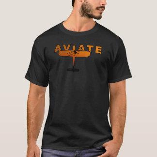 T-shirt Le coucher du soleil de l'aviateur
