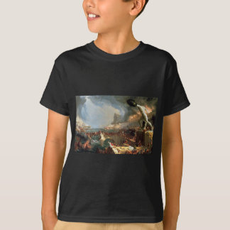 T-shirt Le cours de l'empire : Destruction par Thomas Cole