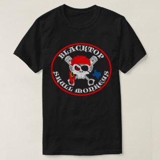 T-shirt Le crâne d'asphalte Monkeys le logo sur l'avant