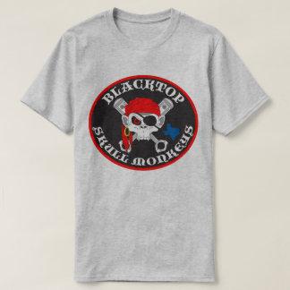 T-shirt Le crâne d'asphalte Monkeys le logo sur l'avant de