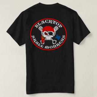 T-shirt Le crâne d'asphalte Monkeys le logo sur le dos