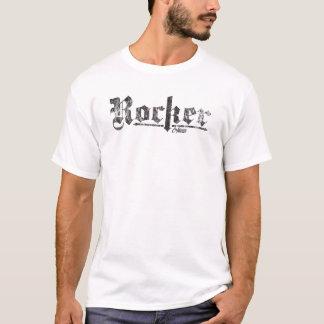 """T-shirt Le cru de """"balancier"""" de coureur de café a dénommé"""