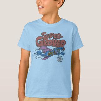 T-shirt Le cru de Grover badine 1