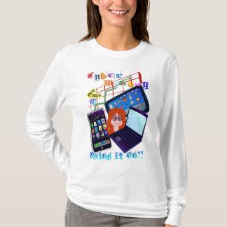 T-shirt Le Cyber Lundi-L'apportent dessus !  Chemises