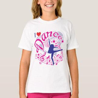 T-shirt Le danseur, j'aime la danse