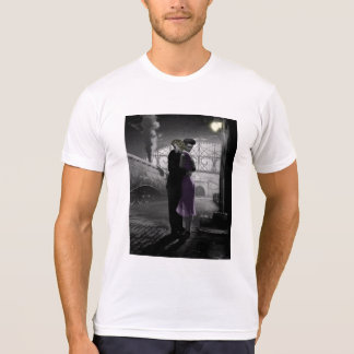 T-shirt Le départ de l'amour