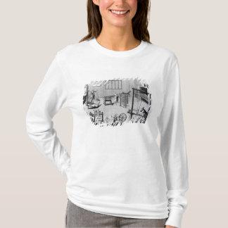T-shirt Le deuxième plat de la fabrication de laine