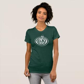 T-shirt Le DK des femmes de pièce en t de tasse de congé